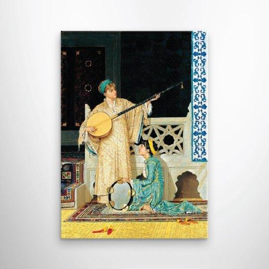لوحة فنية من الحضارة القديمة