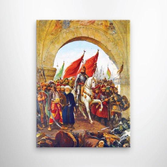 لوحة فنية فتح اسطنبول
