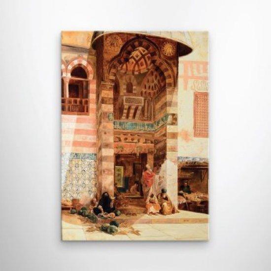 لوحة فنية لجامع من العصر القديم